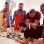 Ucesnici Team Building aktivnosti unapredjenja zaštite i bezbednosti na radu primenom Lego Serious Play metodologije