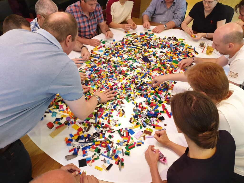 Team Building kolaboracija Lego Serious Play