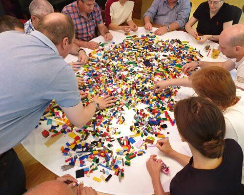 Team Building kolaboracija Lego Serious Play