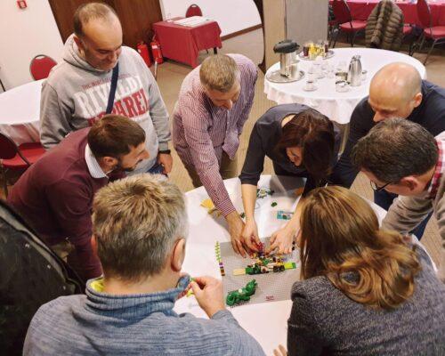 team building radionica za angažovanost tima uz Lego Serious Play