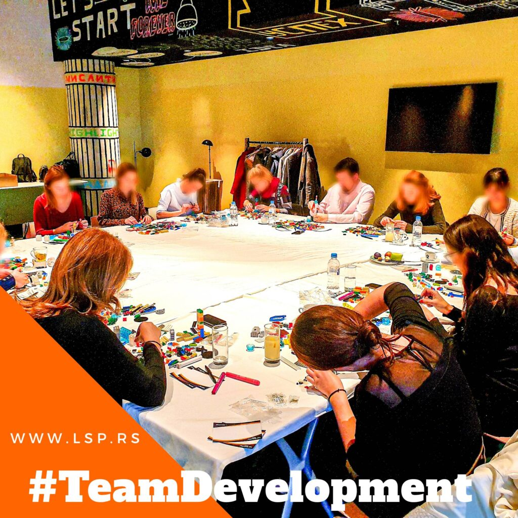 Team Building zaposlenih tokom Lego Serious Play radionice